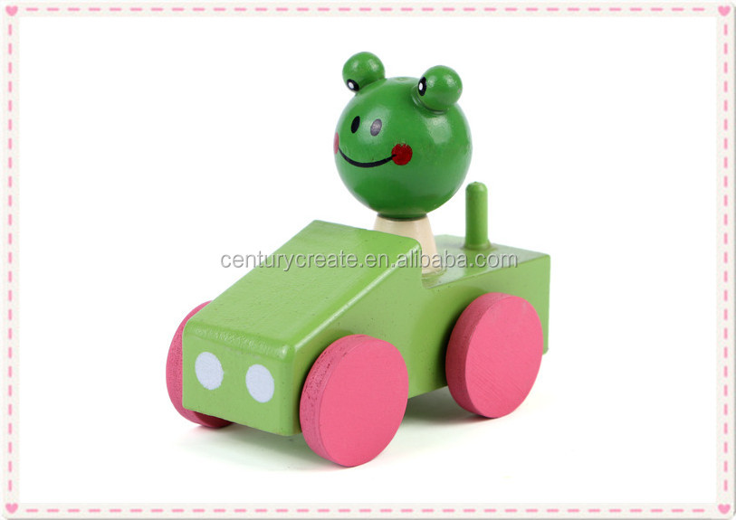 Животное автомобиль формы деревянный точилка для карандашей детей