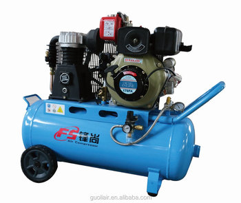 Fh40 4 2hp 70l Tank Sel Piston Oil Air Compressor