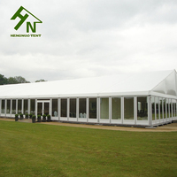30x60m Large outdoor White Marquee Tent / Wedding Party Arch Tent For Sale