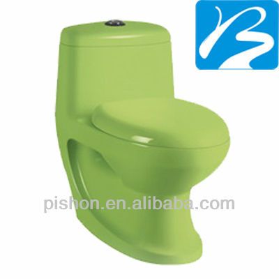Facebook chaozhou sanitary ware green S trap bus toilet