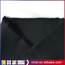 2018 trending products 97 cotton 3 spandex black twill cotton pants fabric