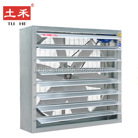 Ventilation system fan for garment factory