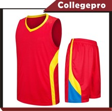 Hot Sale Youth Design Basketball Uniform College Cheap Team
