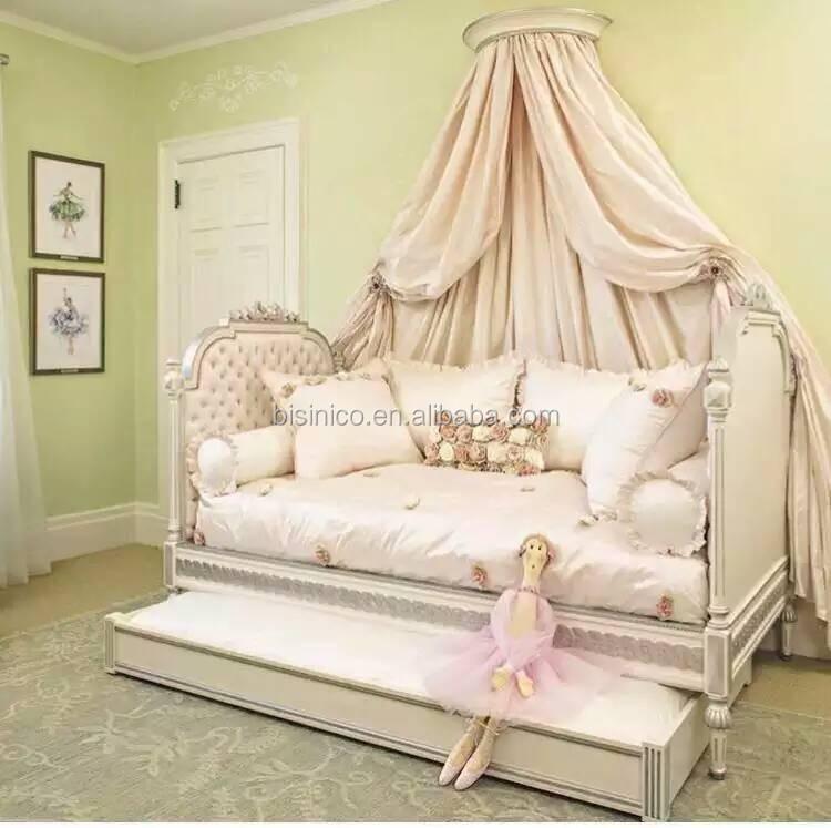 Victoria Style Solid Wood Carved Kid\'s Daybed,Ornate Design Children\'s Bed  Bedroom Furniture,Vintage Princess Bed With Drawer - Buy Bedroom Furniture  ...