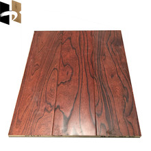 Embossed Multilayer Engineered Elm Wood Flooring