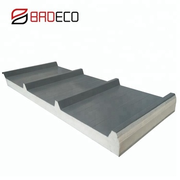 Insulated Waterproof Steel Coated Sip Puf Roof Sheet