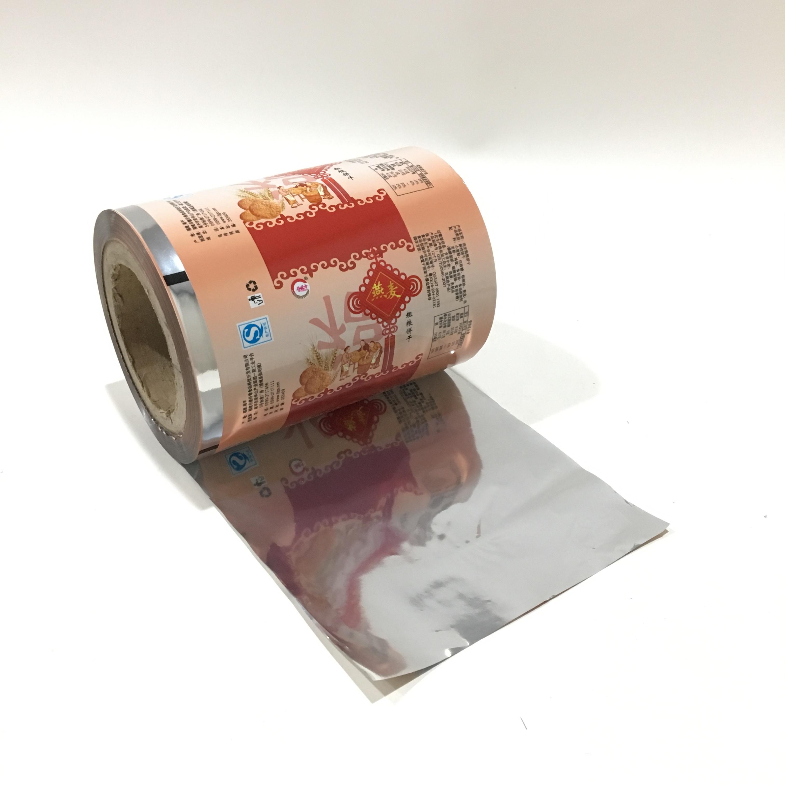 Gelamineerd Materiaal Voedsel Zakje Verpakking Plastic Roll Film