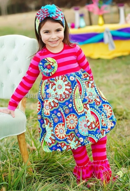 e07430461 Bulk wholesale kids clothing floral triple layers tops children boutique  dresses importing baby clothes from china