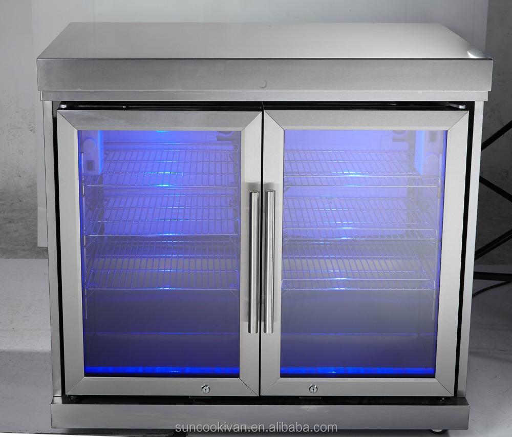 Edelstahl Outdoor Kühlschrank Kabinett,Mit 2 Türen Kühlschrank - Buy ...