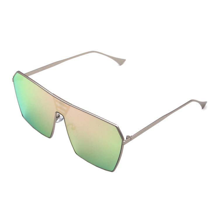 China Supplier Color Lenses Stainless Steel Eye Decoration Womens Sunglasses, Any color is available