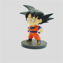 Keten Factory Custom made PVC Kinderen speelgoed 3d Cartoon <span class=keywords><strong>Dragon</strong></span> <span class=keywords><strong>Ball</strong></span> goku Mini Action Figure
