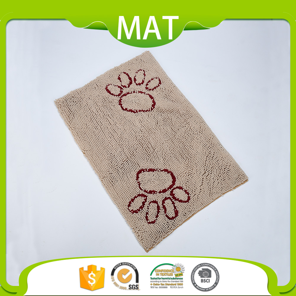 Inexpensive Home Goods Animal Paws Embroidered Cute Area Rugs