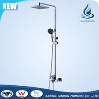 Wall Mounted Brass body rain bath faucet Shower Set for bathroom