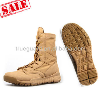 "Wholesale Men's Classic 9"" Coyote Tan cheap military combat boots ..."