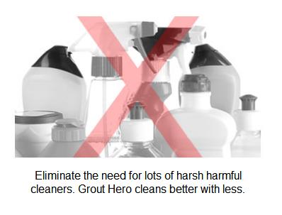 Grout hero household tool rift brush gap brush