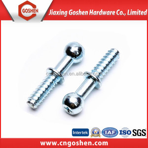 GS carbon steel galvanized ball head screw