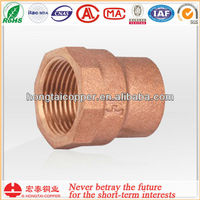 HONGTAI C12200 copper pipe connect flange FEMALE ADAPTER - FTG x F