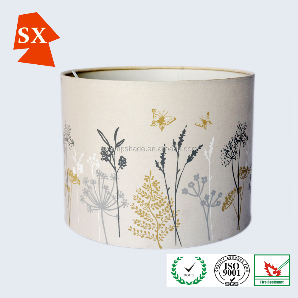 western funky candle floral plum colored plastic led frame lampshades