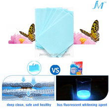 Strong stain removing and clothes color locking laundry sheets soft clean laundry detergent decontamination bright clothes
