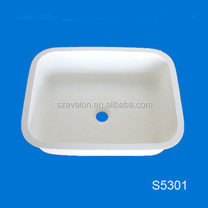 Acrylic Blanco Solid Surface Kitchen Sink,undermout sink