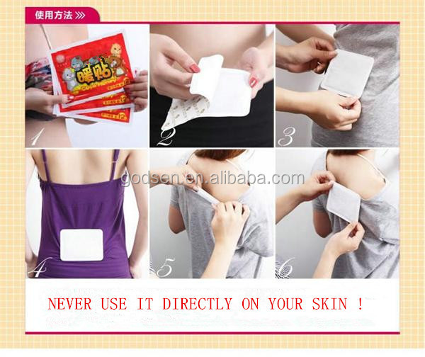 menstrual pain relief patch/ body warmer patches,electric foot heating pad