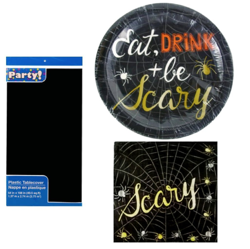 Get Quotations · Halloween Eat Drink And Be Scary Paper Plates Napkin and Table Cover Set (  sc 1 st  Alibaba & Cheap Hob Cover Plates find Hob Cover Plates deals on line at ...