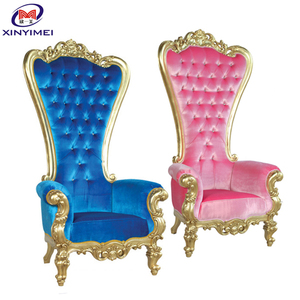 comfortable wedding throne chair,royal wedding chair