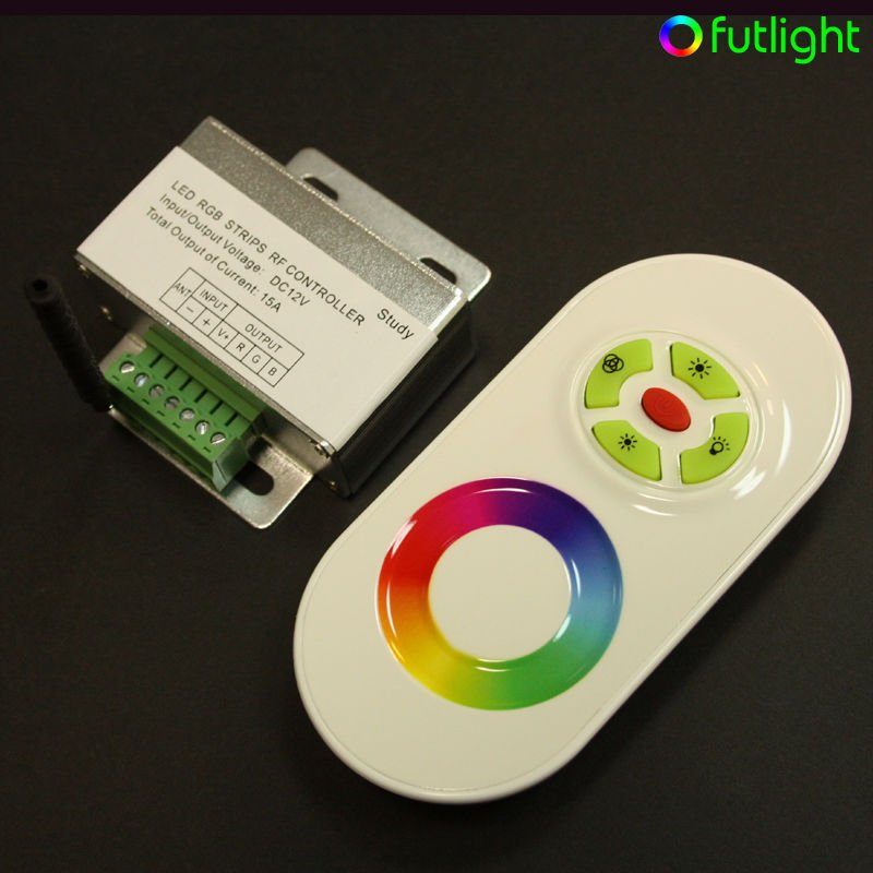 mi light 5 keys LED rgb controller 433 M HZ wireless rf led dimmer mi light wireless lled sync controller