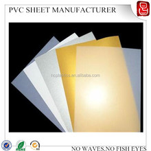 whiter ,transparent , golden , silver A4 size inkjet pvc card