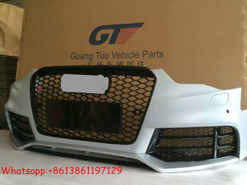 RS5 body kit for A5 front bumper and grille for audi A5