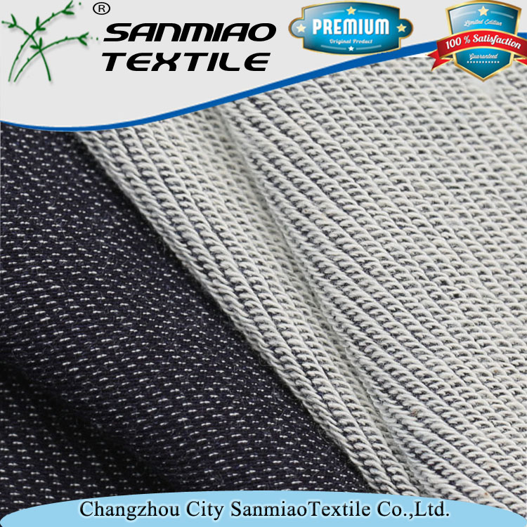 Brand new Light blue denim fabric textile wholesale with high quality