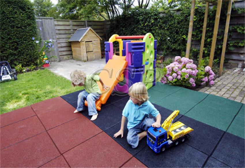 Indoor Children Playground Flooring,rubber Tiles Outdoor Patio