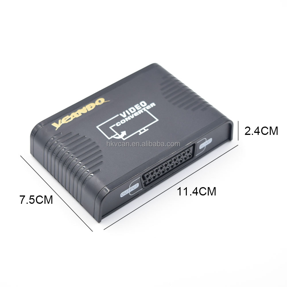 Vcando Manufacturing Hdmi Input Scart Output Converter