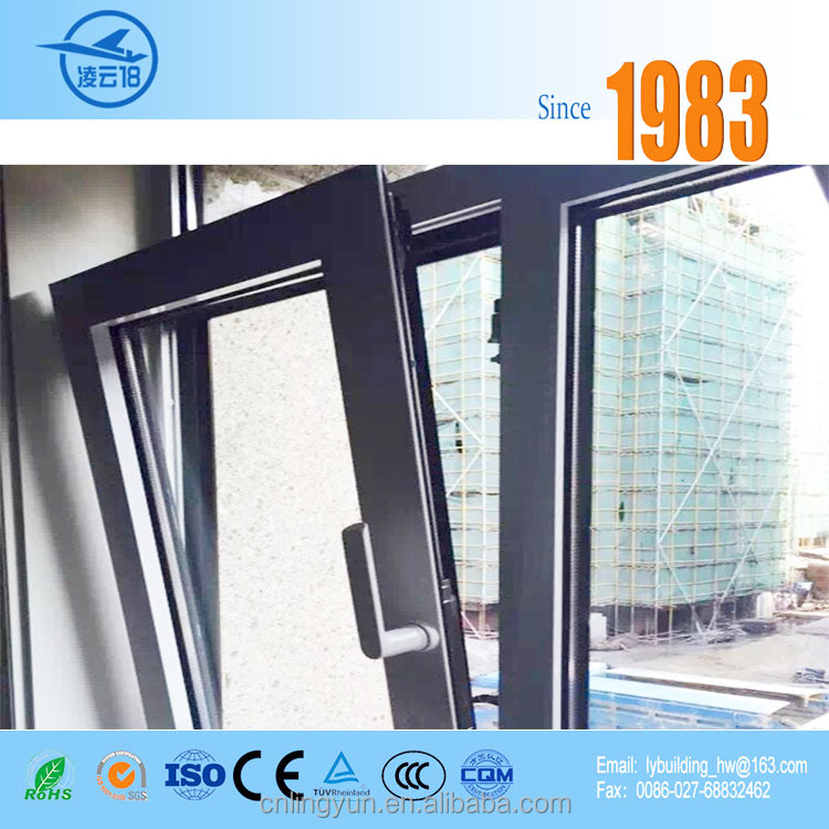 Schuco AWS 65 BS thermal insulated Concealed vent window for residential house