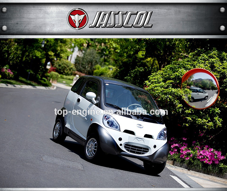 Hot sale powerful adults mini cheap electric car with lithium or lead-ascid battery