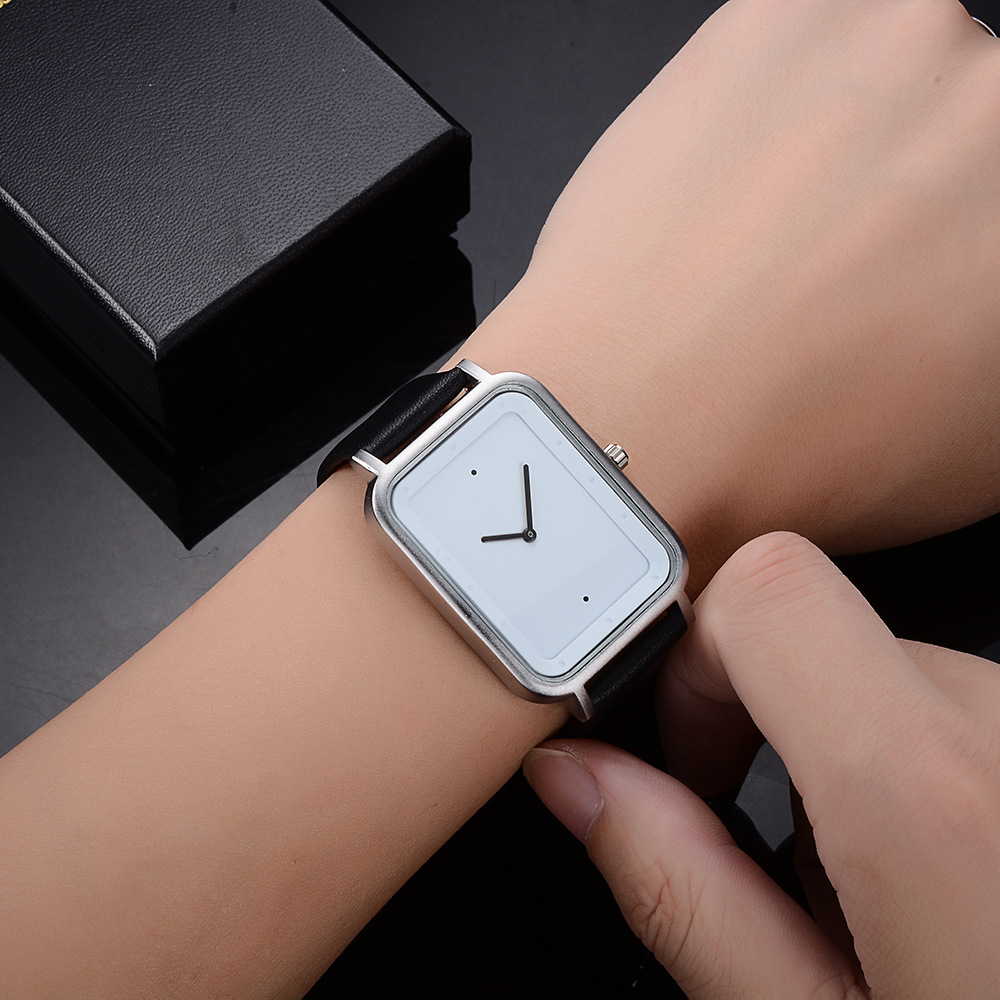 Square Men's Watches Quartz Watches Hot Sells Fashion New Trend Simple Personal Watch For Men