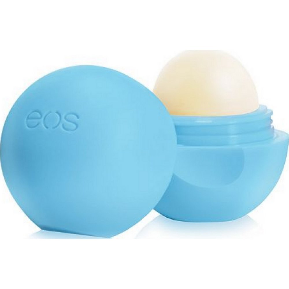 Eos Products Lip Balm - Smooth Sphere - Organic - Blueberry Acai - 0.25 oz - Case of 8