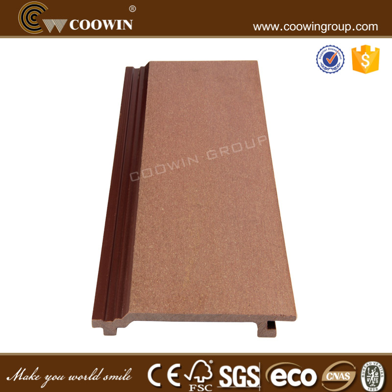 plastic wood composite exterior house cladding for exterior wall coverings