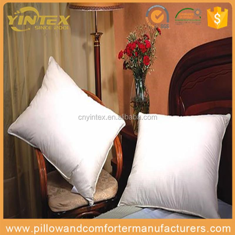 Alibaba en espa ol fabricante china almohada de plumas de - Almohada pluma de ganso ...