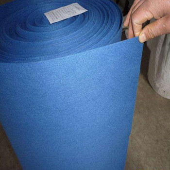 100% polyester needle punched nonwoven felt