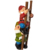 Up the Ladder Climbing Garden Gnome Hand Made Resin Statue