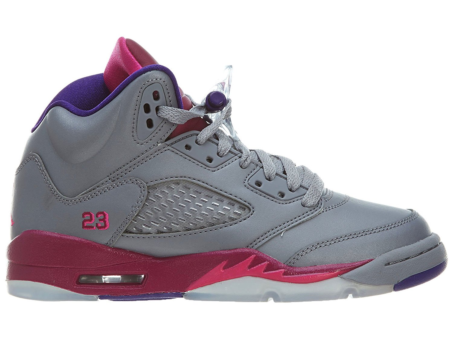 "Nike Air Jordan 5 Retro ""Grapes"" (PS) Boys Basketball Shoes 440889-108"