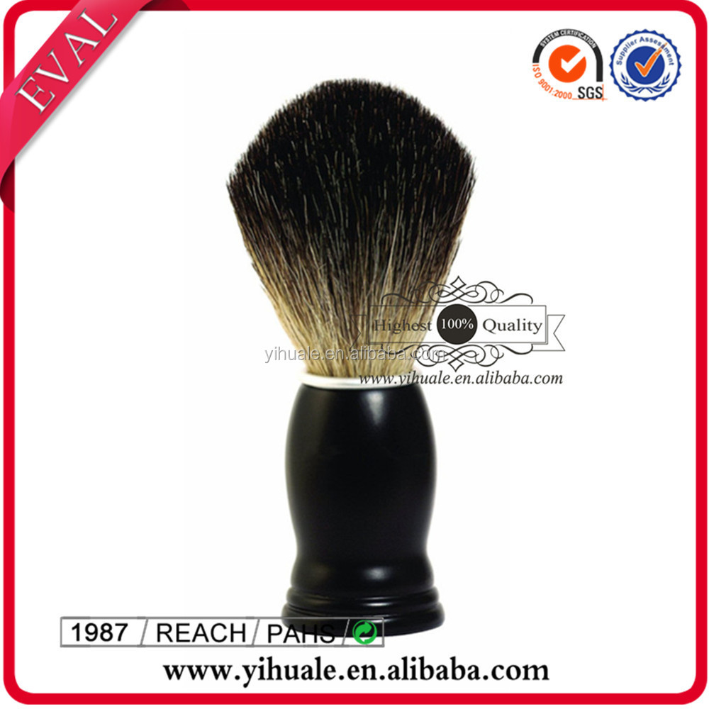 Badger shaving brush for men's personal care