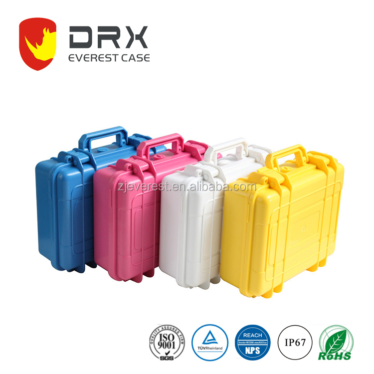 Colorful Watertight Hard Rugged Safety case Protective Case for Electronics, Equipment, Cameras, Tools, Drones
