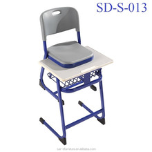 Plastic Middle School Hot Sale Model Student Desk Chair Set Classroom Used SD-S-013
