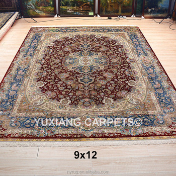 9x12 Ft Top End Oriental Carpets And Rugs Handmade Silk Persian
