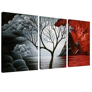 3 Panel Chinese Style Landscape Canvas And Photo Prints/Canvas Art Pictures Painting