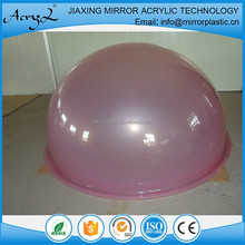 New Products Design Yellow Acrylic Sphere With Edge