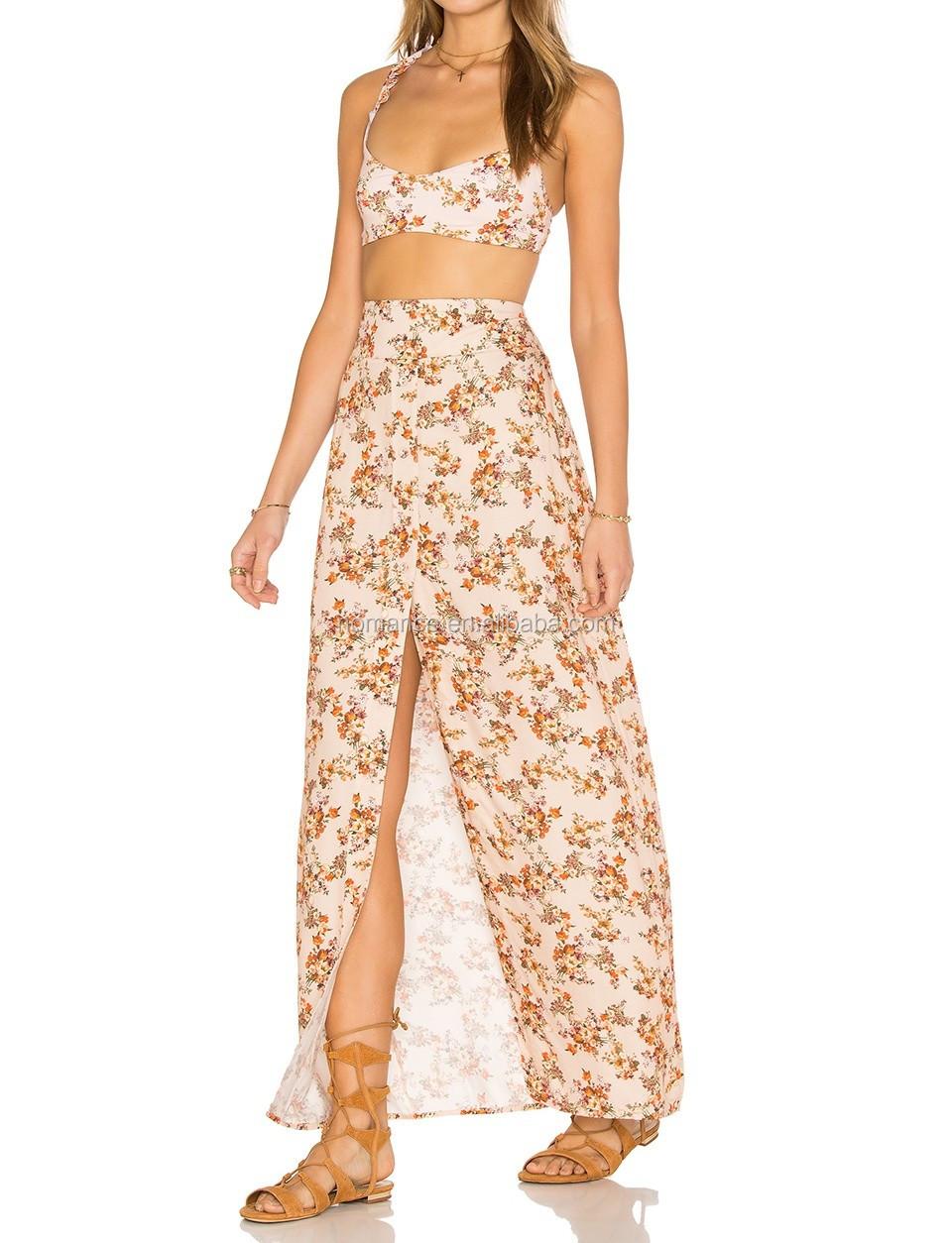 Latest Fashion Ladies Design Skirt Suits Bangkok Fashion Long ...