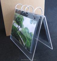 high quality acrylic calendar stands desktop calendar stand